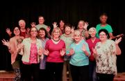 The ladies of Mollyockett Chorus